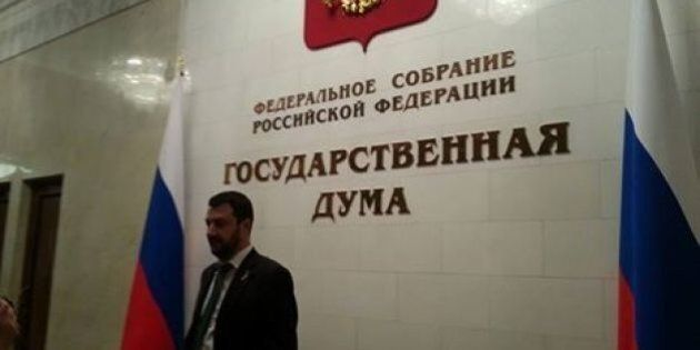 Matteo Salvini in Russia immaginando