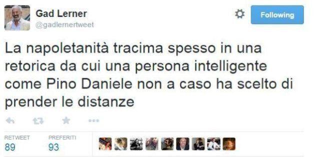 Pino Daniele, Gad Lerner: