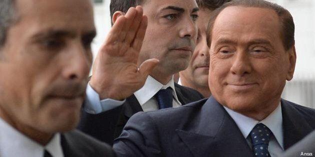Silvio Berlusconi presenta il nuovo libro di Bruno Vespa: