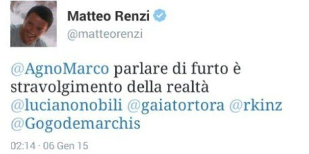 Matteo Renzi Udinese Roma, tweet fantasma sul goal fantasma