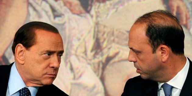 Angelino Alfano a Silvio Berlusconi: