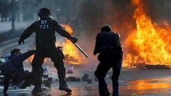 Blockupy, scontri a Francoforte tra polizia e movimento