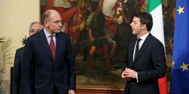 Matteo Renzi-Enrico Letta, prove di intesa. Il documento dei lettiani per la