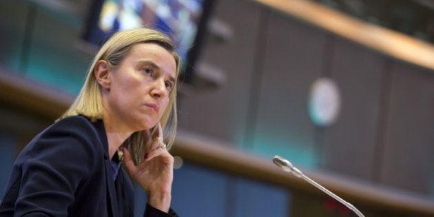 Federica Mogherini a Tripoli con Ban Ki-Moon: