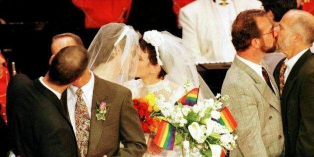 Sondaggi matrimonio gay: dice sì il 72% elettori M5s e il 64% di quelli Fi. Pd meno aperto: i favorevoli...
