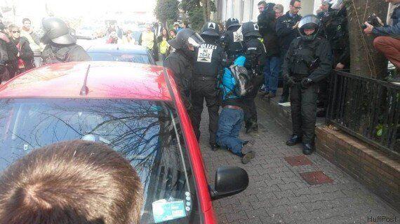 Blockupy, italiani fermati a Francoforte. Inutile mediazione Fratoianni-Forenza. Nel pomeriggio corteo...