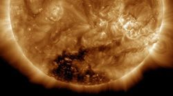 Il sole si sta spegnendo? La nuova immagine della stella preoccupa la