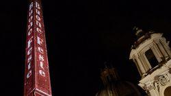 Piazza Navona e il Bernini deturpato per
