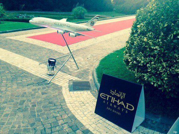 Etihad, a Roma la festa a Villa Miani per celebrare le pre-nozze con Alitalia. Ma senza
