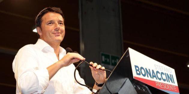 Matteo Renzi all'assemblea di Confindustria: