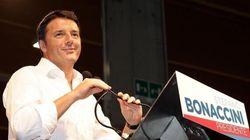 Renzi a Bergamo per l'assemblea di Confindustria. Presidio di protesta della Fiom (DIRETTA
