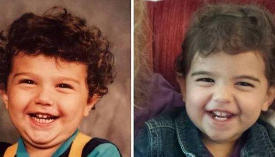 Foto di genitori e figli: vi sembrerà di vedere