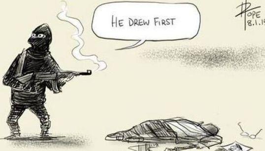 I vignettisti di tutto il mondo disegnano per solidarietà con