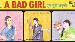 Seno, iPhone e motorino? Il poster in India spiega cos'è una cattiva