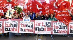 L'articolo 18, il reietto eccellente scende in piazza il 25 ottobre con la