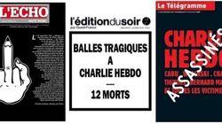 Le prime pagine dei giornali francesi e stranieri su Charlie Hebdo