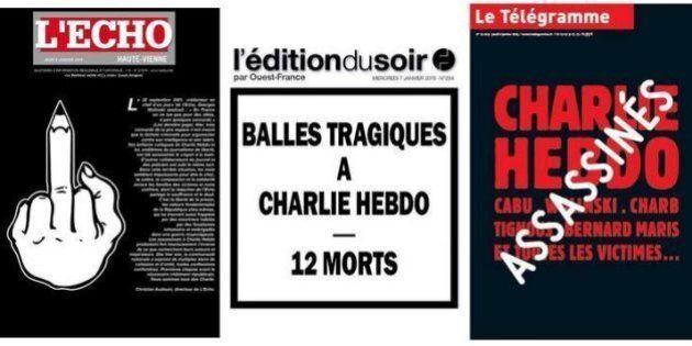 Charlie Hebdo, copertine giornali: i quotidiani francesi e quelli stranieri raccontano così l'attentato