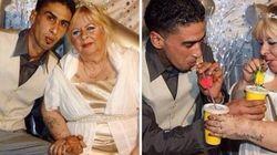 Pensionata spende migliaia di sterline per sposare toyboy tunisino.