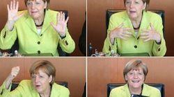 Angela compie 60 anni a Bruxelles (FOTO,
