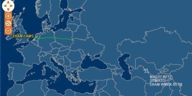Aereo Malaysia Airlines caduto in Ucraina: volava da Amsterdam a Kuala Lumpur