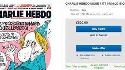 Charlie Hebdo, boom di richieste su eBay per l'ultimo numero
