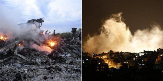 Israele attacca Gaza - Aereo della Malaysia Airilines abbattuto al confine tra Russia e Ucraina. E' guerra...