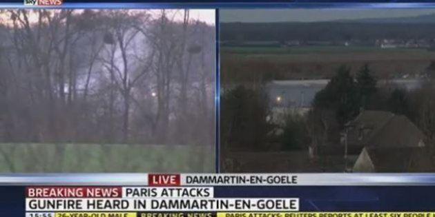 Attentati Francia, il video dell'esplosione dove sono asserragliati i terroristi di Charlie Hebdo