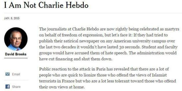 Charlie Hebdo, editoriale controcorrente del New York Times: