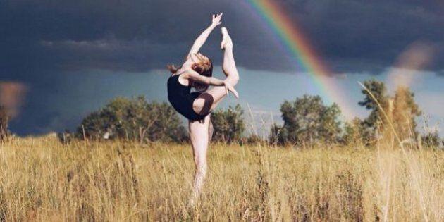 Le foto della ballerina mostrano che la scoliosi è solo una diagnosi: