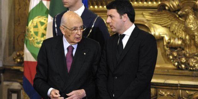 Sondaggio Agorà: Napolitano supera Renzi nella classifica dei leader più graditi. Da settembre il premier...