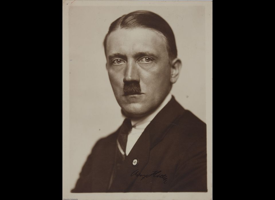 Items up for auction at Alexander Historical Auctions in CT starting May 8, 2012. Signed Adolf Hitler picture. <em>To learn m