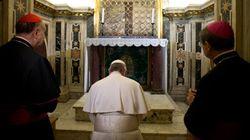 Papa Francesco prega per i cristiani di