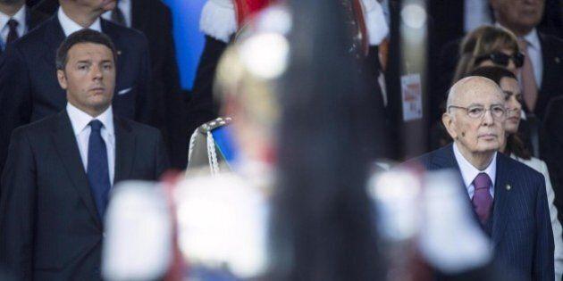 Giorgio Napolitano lascia mercoledì. Matteo Renzi: il primo febbraio eleggiamo il nuovo
