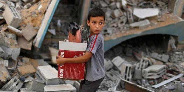 Gaza, Onu: allarme sfollati, sono oltre 83mila. John Kerry al Cairo per chiedere una tregua