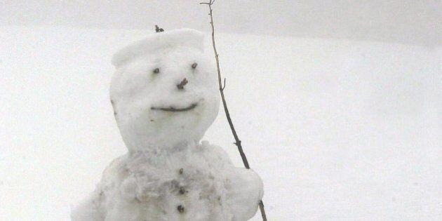 Arabia Saudita, fatwa contro chi fa i pupazzi di neve.