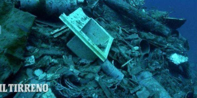 Concordia, i fondali dell'isola del Giglio dopo la rimozione del relitto: 23mila metri quadri di detriti