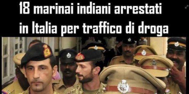 Maro', 18 marinai indiani arrestati per traffico di droga in Italia. Paolo Bernini M5S: