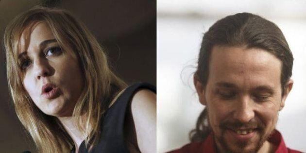 Pablo Iglesias e Tania Sanchez si lasciano con un comunicato su Facebook nella notte delle elezioni in