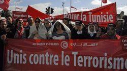Tunisi marcia contro il Terrorismo