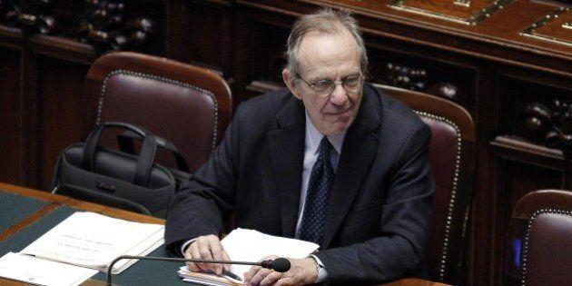 Pier Carlo Padoan all'Europarlamento: