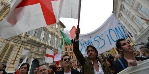 Alluvione Genova, Cristiano De Andrè e Francesco Baccini con OraBasta chiedono le dimissioni del sindaco