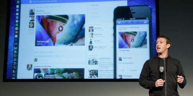 Facebook CEO Mark Zuckerberg speaks at Facebook headquarters in Menlo Park, Calif., Thursday, March 7,...