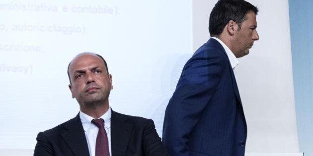 Fiducia sul divorzio veloce, lo scambio necessario tra Pd e Angelino Alfano per tenere buona Ncd. E sulla...