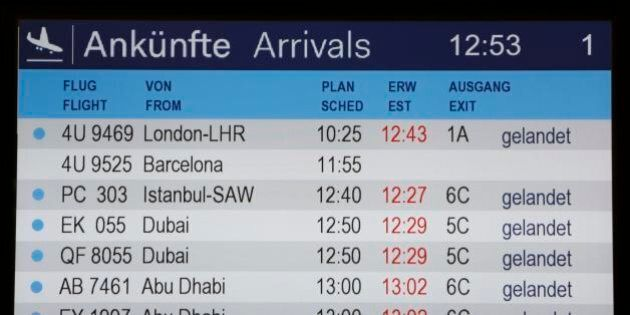 La Germanwings nominata tra le migliori compagnie lowcost nel giorno prima dell'incidente dell'Airbus...