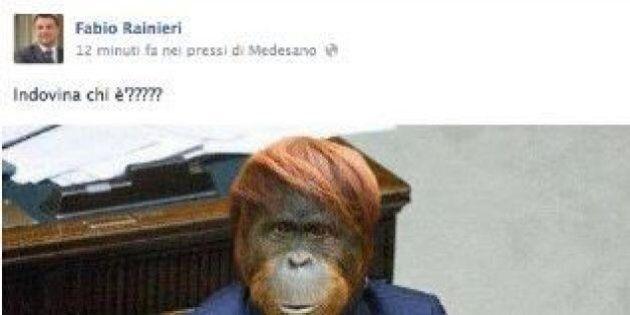 Fabio Rainieri (Lega) dovrà risarcire Cecile Kyenge per la foto ritoccata da scimmia, Salvini sbotta:...