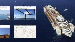 Costa Concordia a Genova, scatta il business delle case in affitto per vederla.