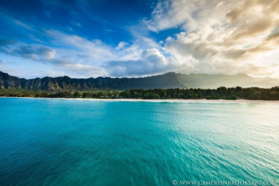 Hawaii, Oahu e le sue bellezze. L'isola vista dall'alto è un tripudio di verde e di blu
