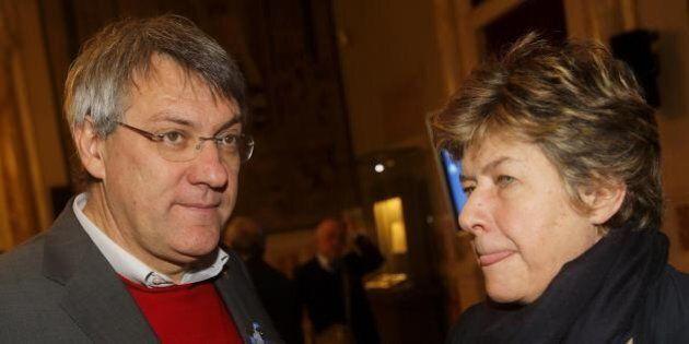 Susanna Camusso e Maurizio Landini: tregua difficile in vista della manifestazione di sabato 28 marzo....