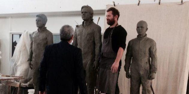 Assange, Davide Dormino e la sedia vuota: un progetto artistico