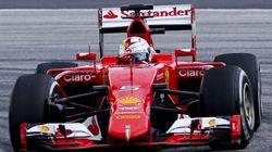 La Ferrari vince sfruttando meglio le Pirelli. Da qui parte l'inseguimento alla